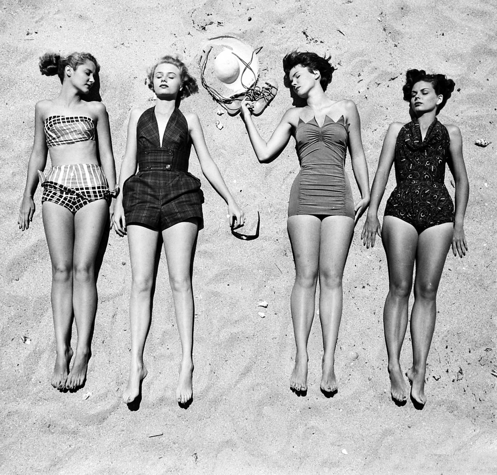 Awesome Vintage One Piece Swimsuits | SwimDir