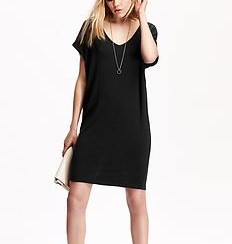 Old Navy V Neck Tee Shirt Dress.png