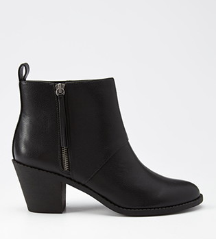 Forever 21 Black Booties.png