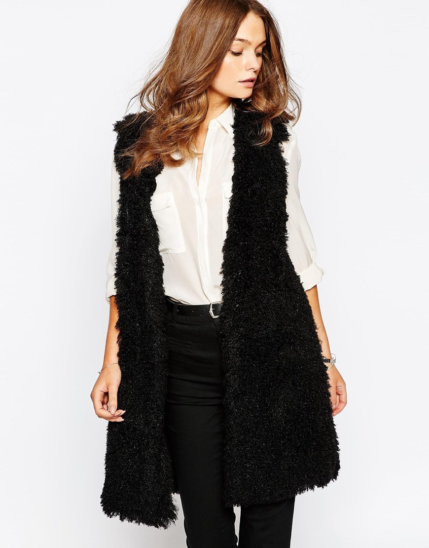 Asos teddy bear faux fur vest .jpg