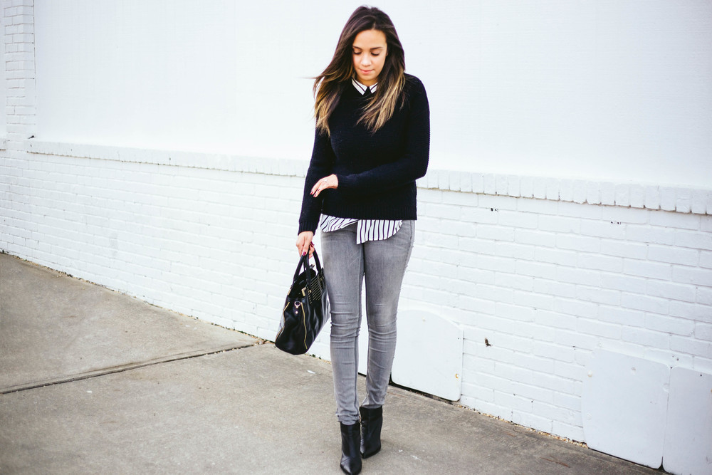 Black Stripes + Grey Jeans 1.jpg