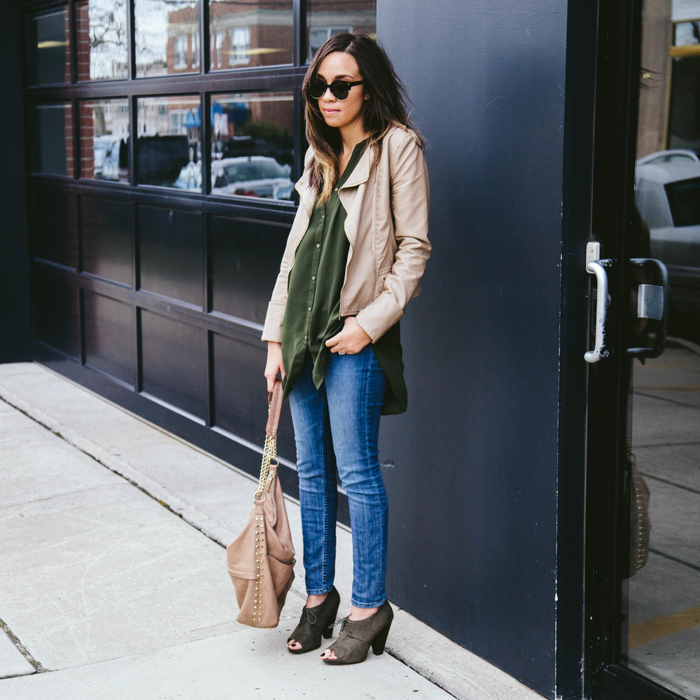 Nude Faux leather + Olive booties.jpg