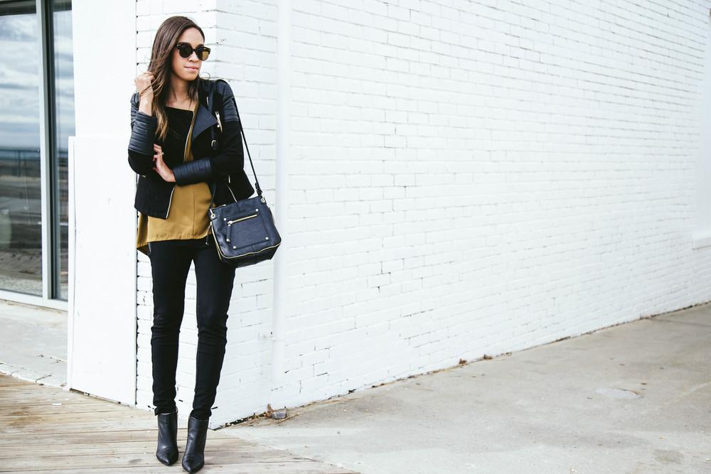 Black moto jacket + Mustart Shirt 4.jpg