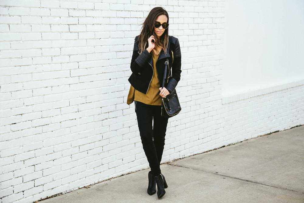 Black moto jacket + Mustart Shirt 3.jpg