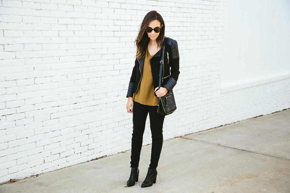 Black moto jacket + Mustart Shirt.jpg
