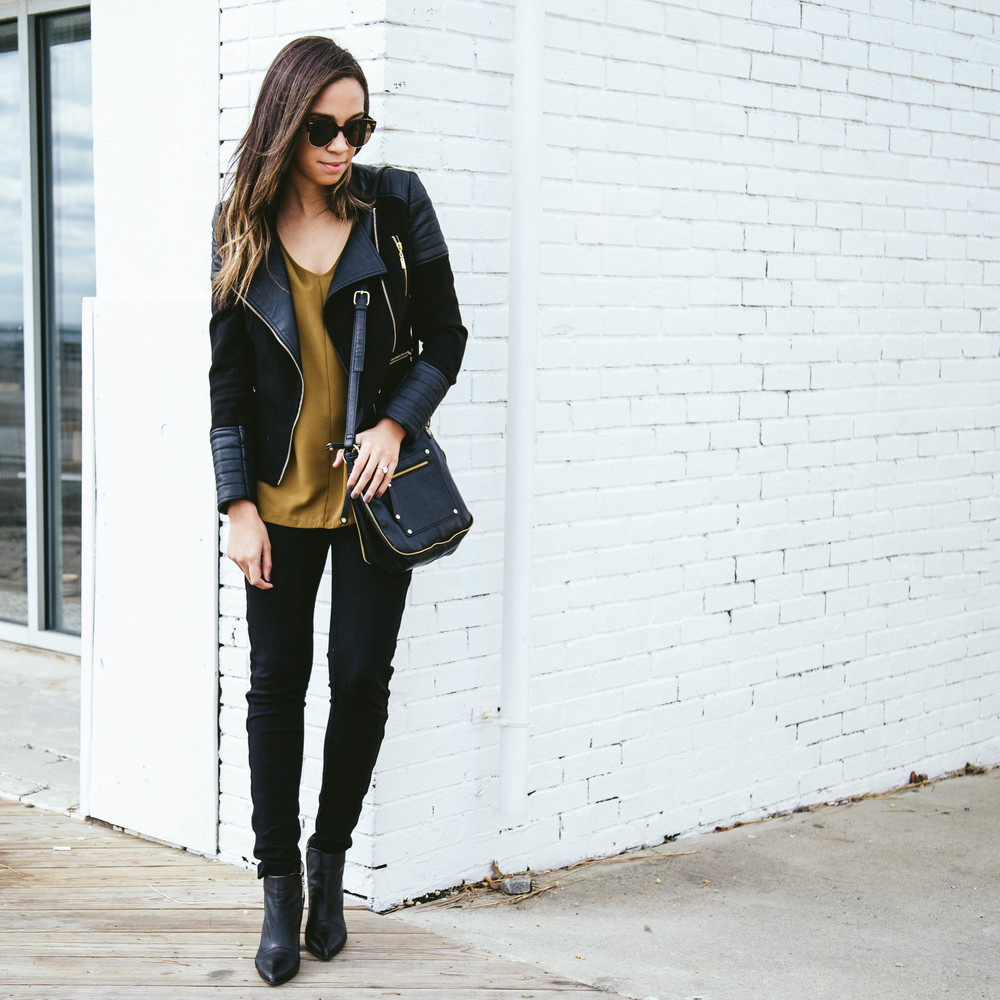 Black moto jacket + Mustart Shirt 5.jpg