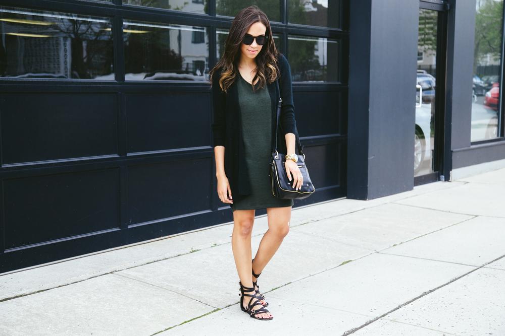 Gladiator sandals + Tee Shirt Dress 1.jpg
