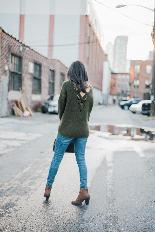 Olive Green Fall Sweater  10.jpg