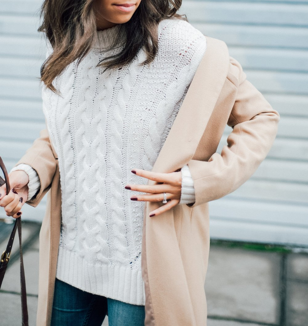 White Cable Sweater + Camel Coat 9.jpg