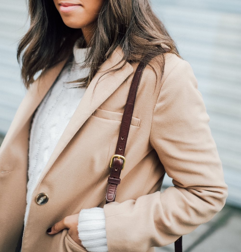 White Cable Sweater + Camel Coat 12.jpg