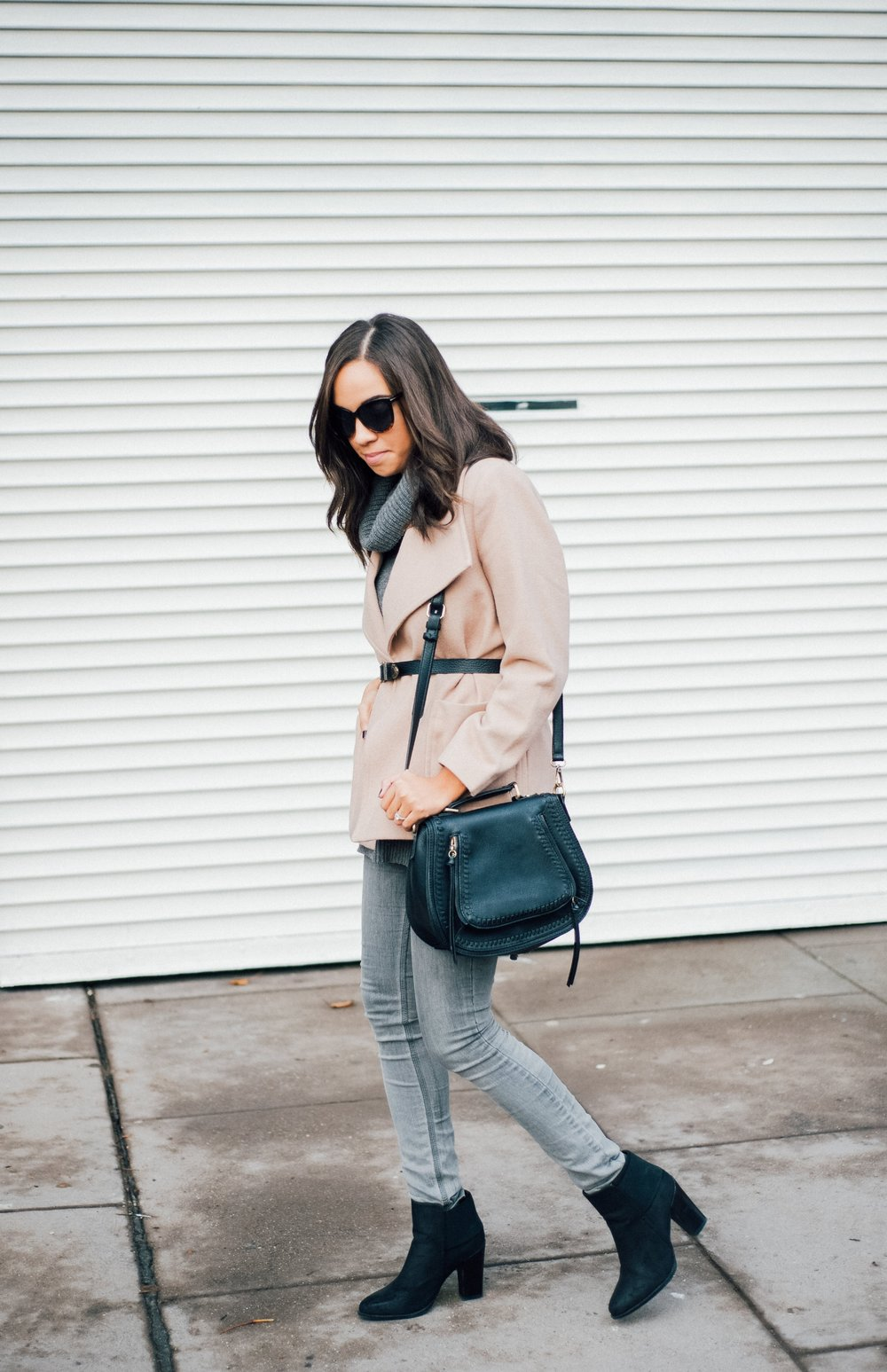 Grey Turtleneck Sweater + Vintage Belt 3.jpg