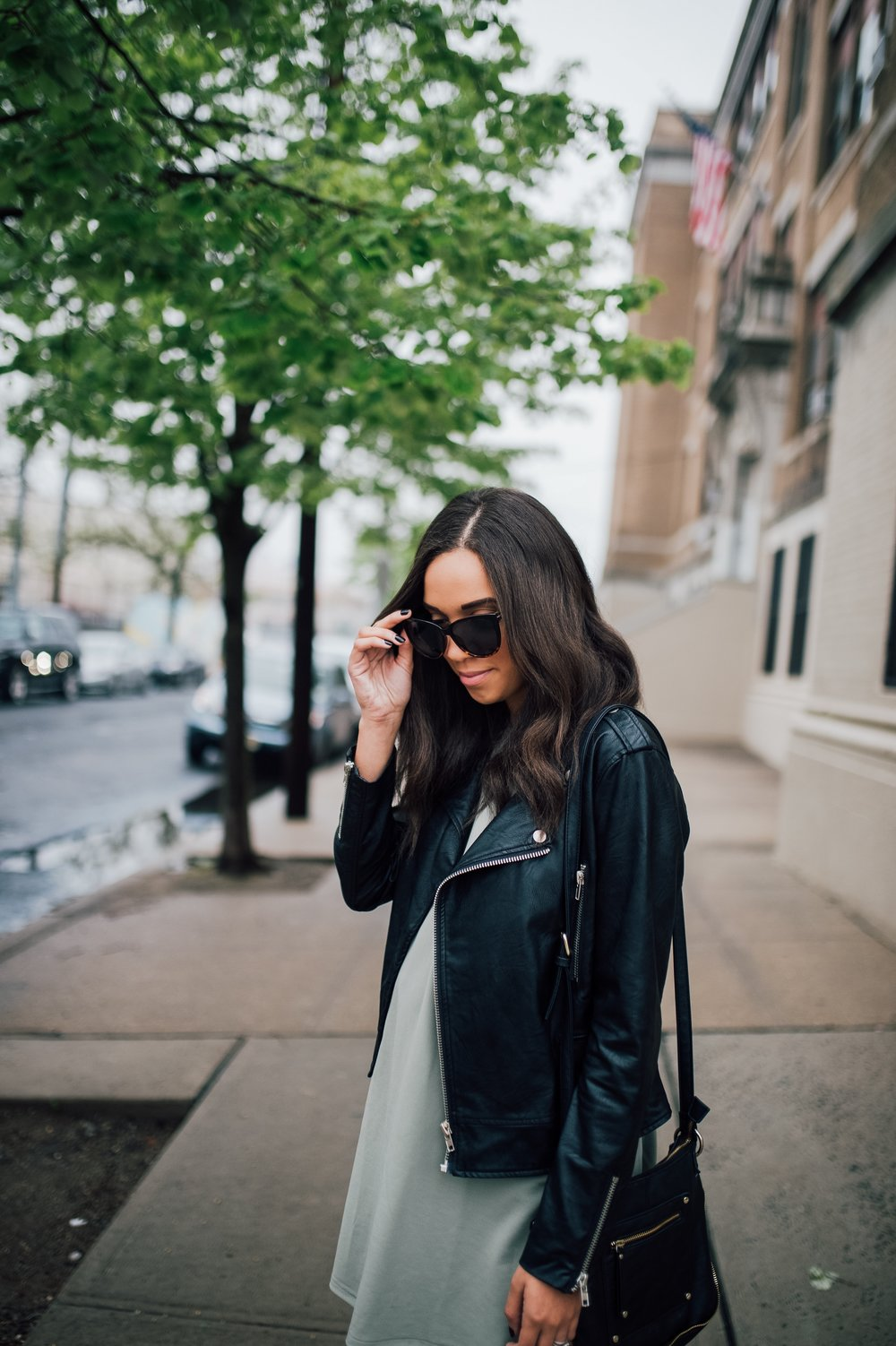 Faux Leather Jacket + Maternity Style 8.jpg
