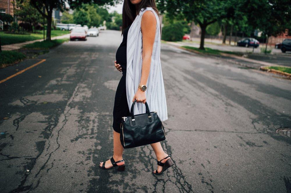Maternity Black Dress + Vest 4.jpg