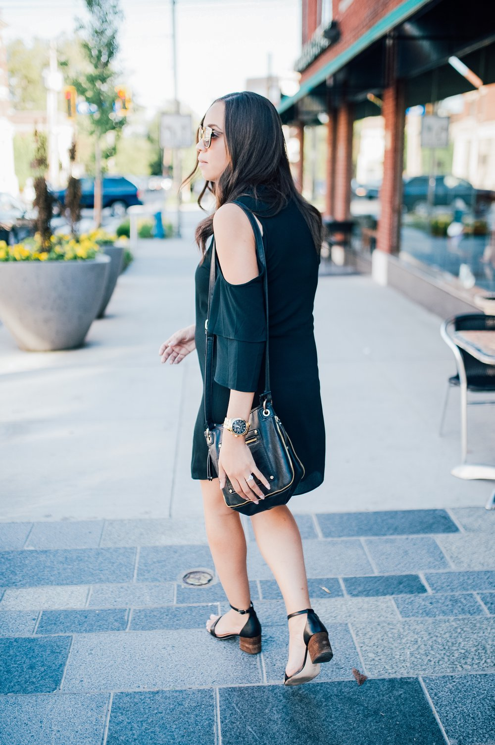 Maternity Style + Cold Shoulder Dress.jpg