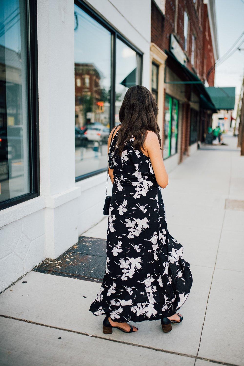 Floral Halter Dress- Maternity Style 2.jpg