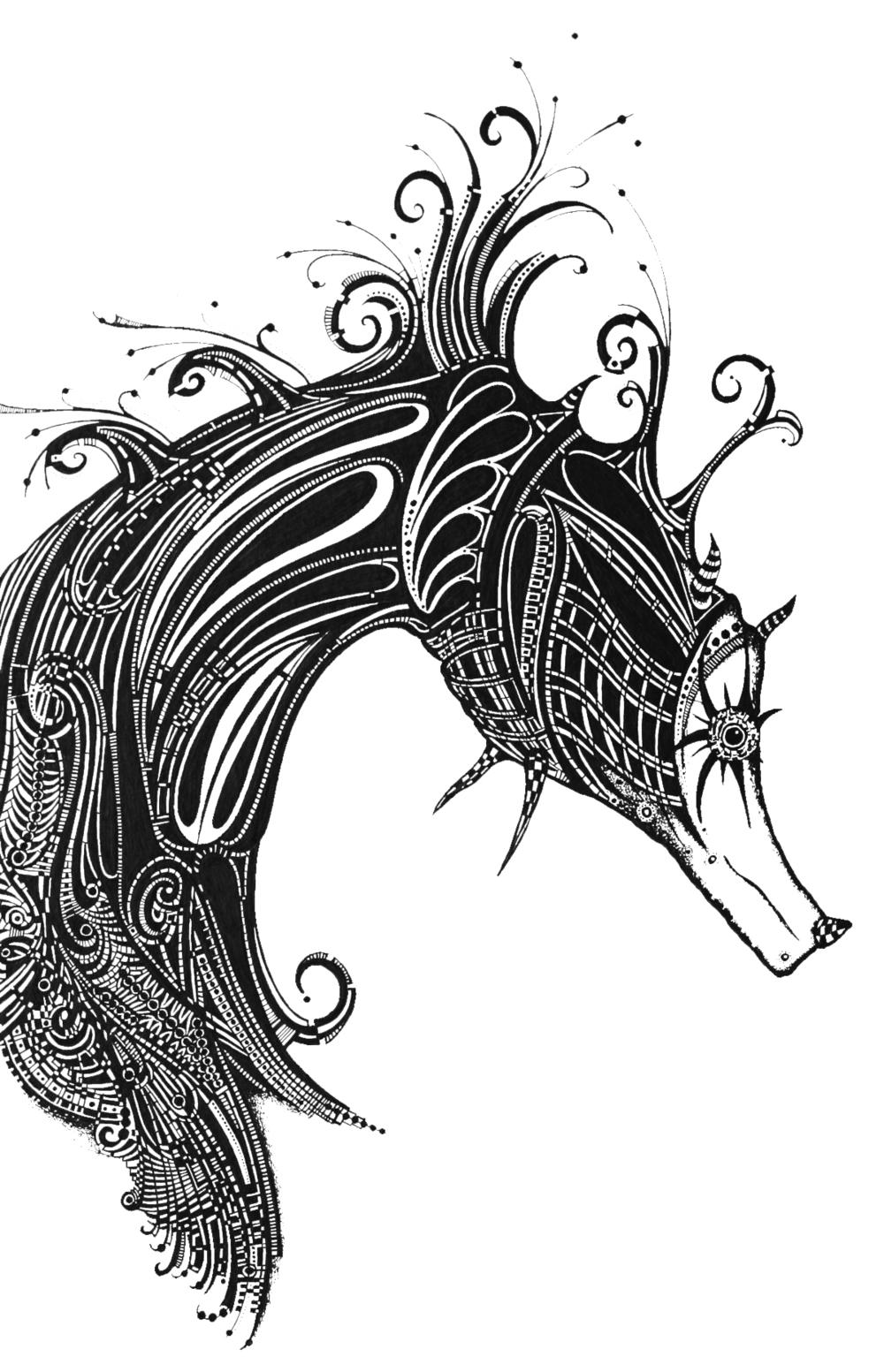 Sea-Horse Fantasia - Study 2