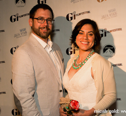 Our red carpet moment. Photo by Micah Gold