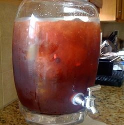 Berry Vodka Punch/Stylelushblog.com
