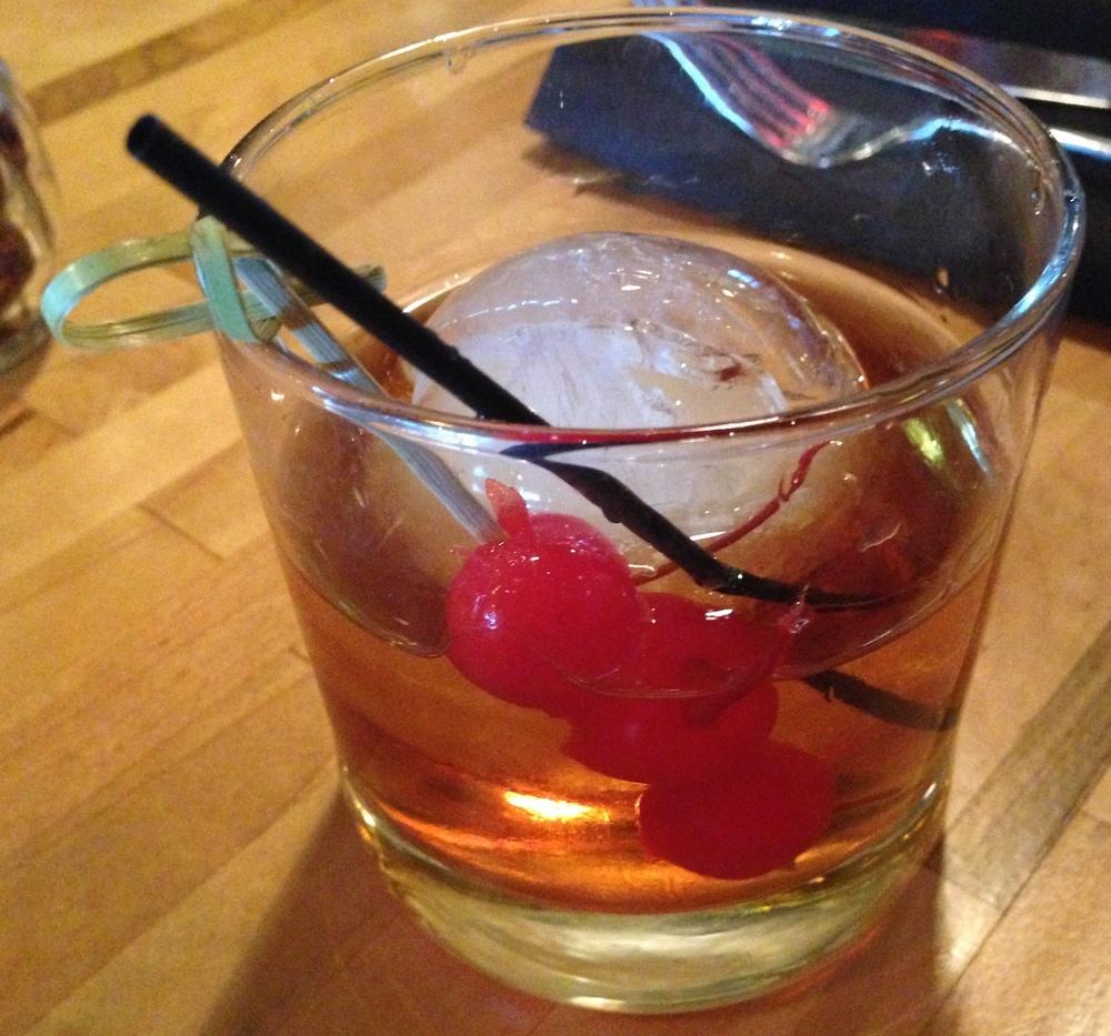 A cocktail at Matchbox