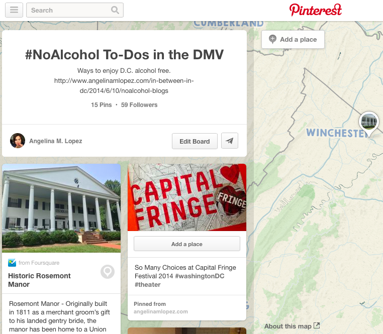Check out my Pinterest board for more #NoAlcohol to-dos