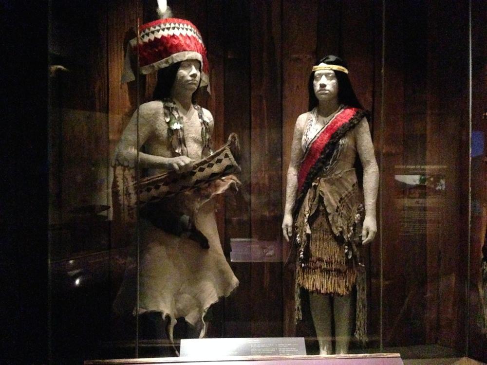 Dance Dress for Hupa People, California