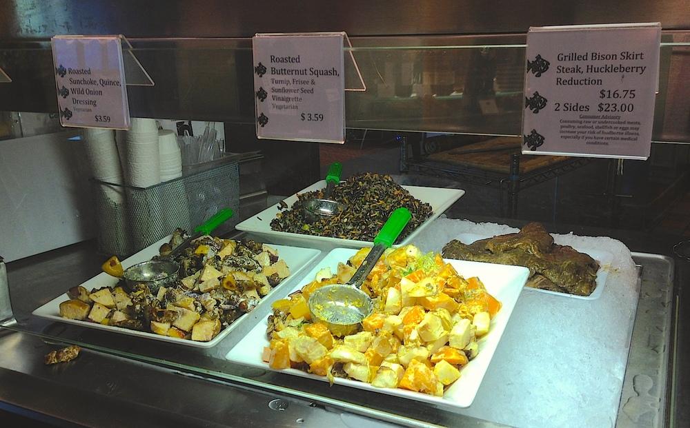 Vegetarian Goodness at Mitsitam Cafe