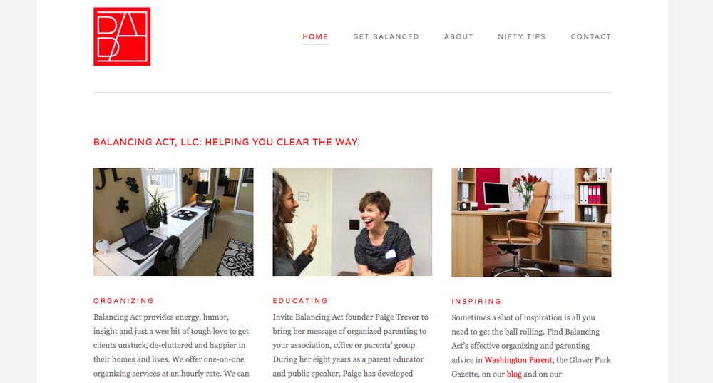 Branding, tagline, website content, social media management
