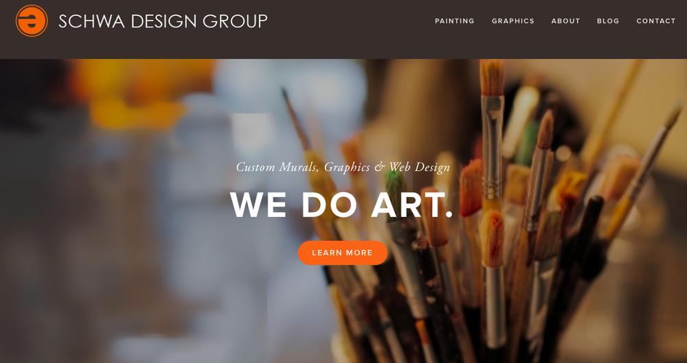 Branding, tagline, website content