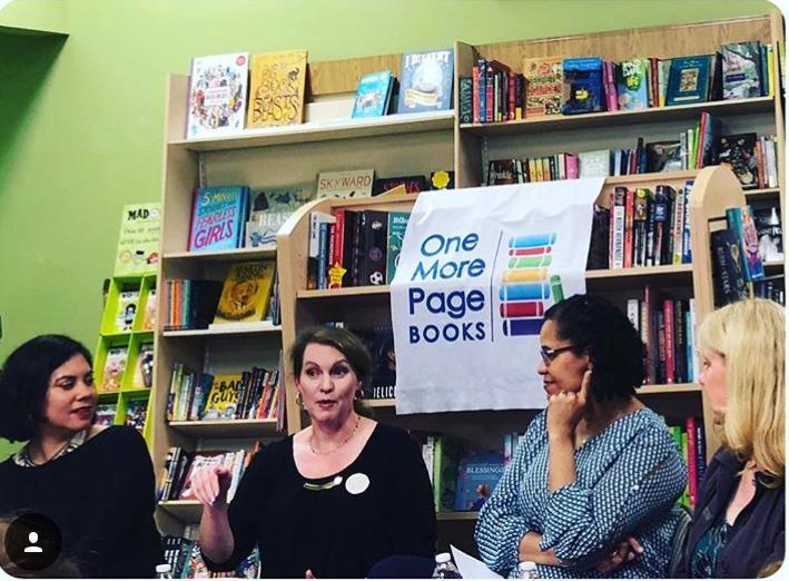 The panel. Photo credit: Harper Kincaid