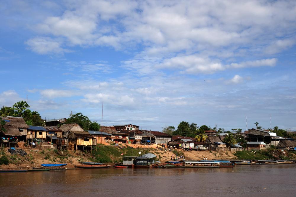 The port of Yurimaguas