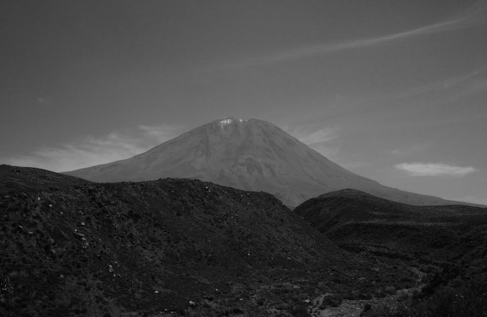 View of El Misti, Peru