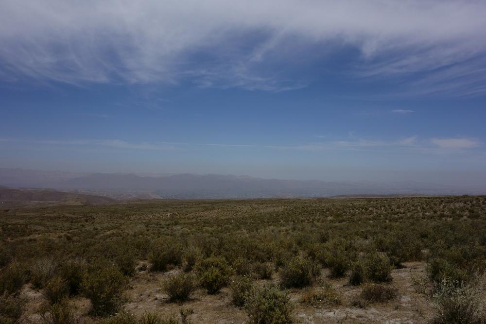 Desert at the base of El Misti, Peru