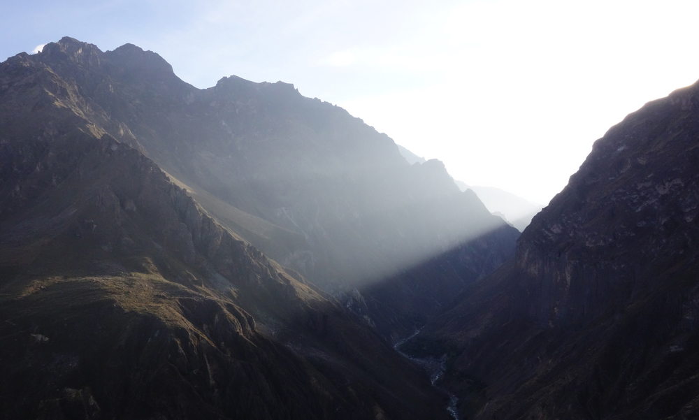 Colca Canyon at Sunrise, Peru