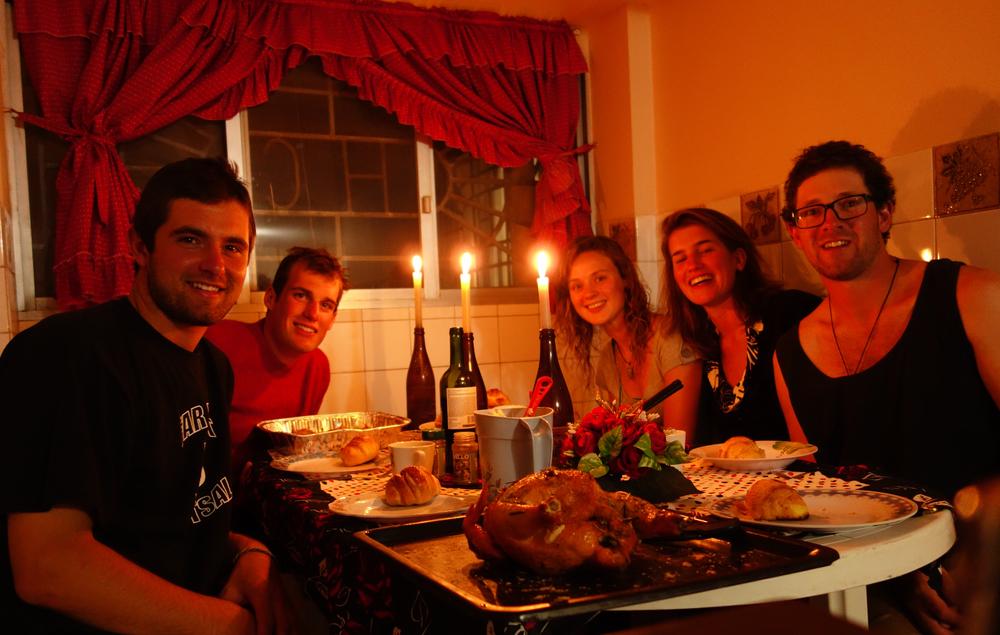 Thanksgiving in La Paz, Bolivia