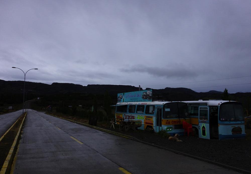 Sandwich bus, Villa Cerro Castillo - Chile