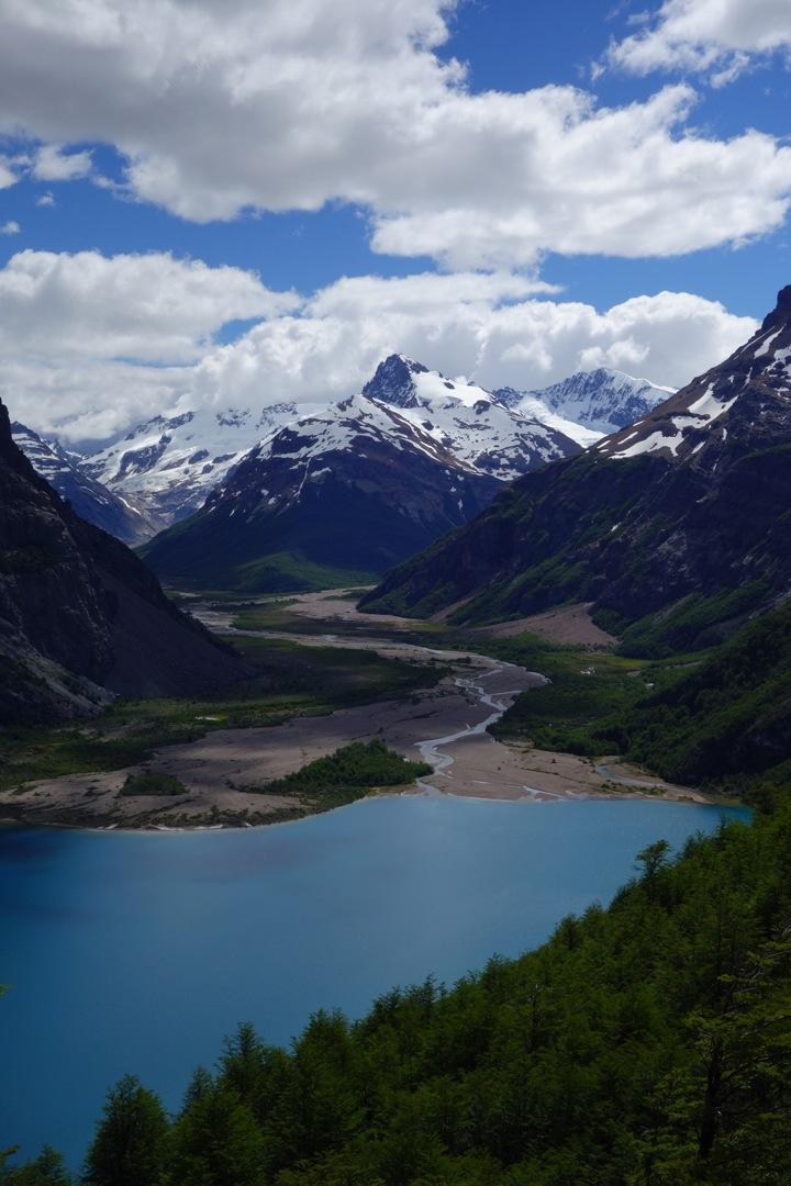 View from the pass above Lago Verde - Reserva Nacional Lago Jeinimeni, Chile