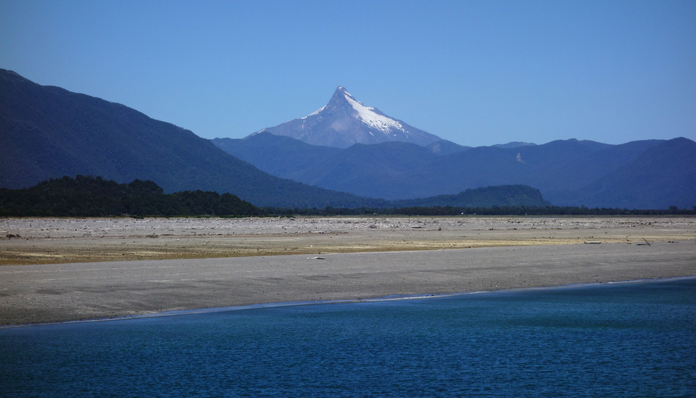 View from the ferry to  Chiloé  , Chile