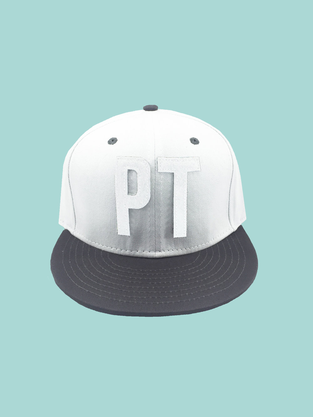BASEBALL HAT: White Ptown Hat