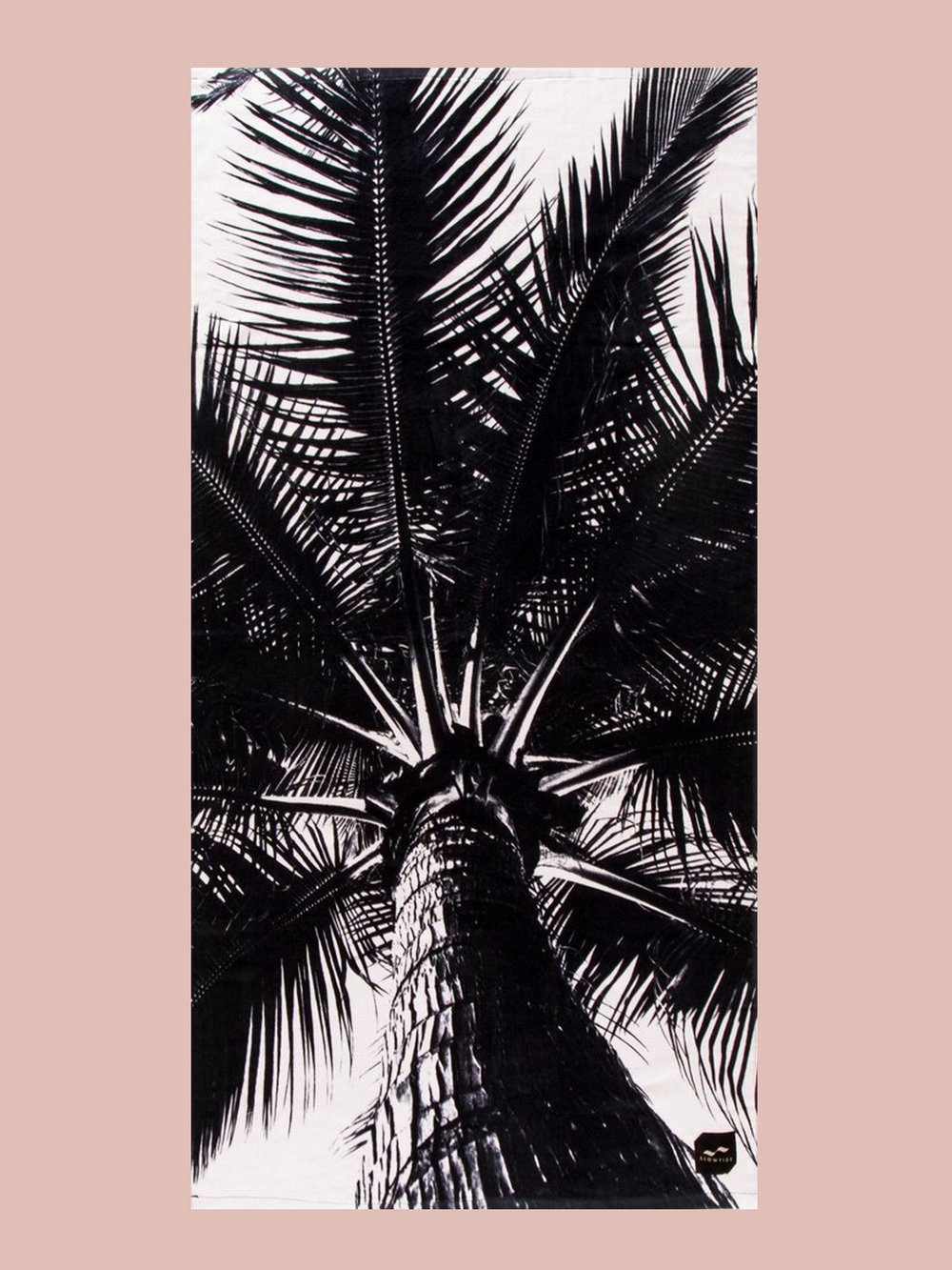 BEACH TOWEL: Palm Tree Towel