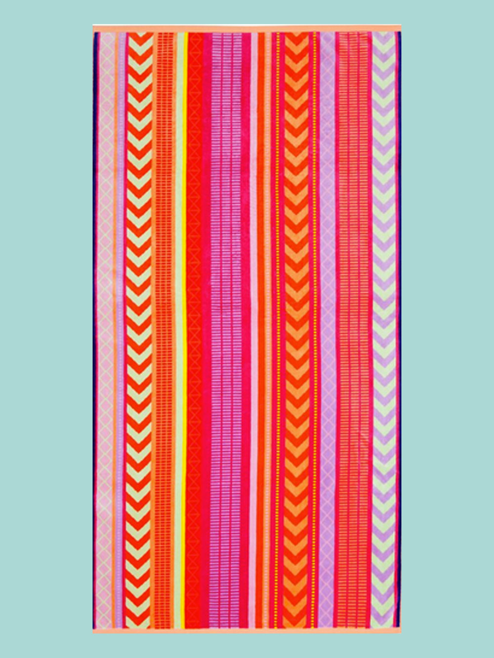 BEACH TOWEL: Striped Towel