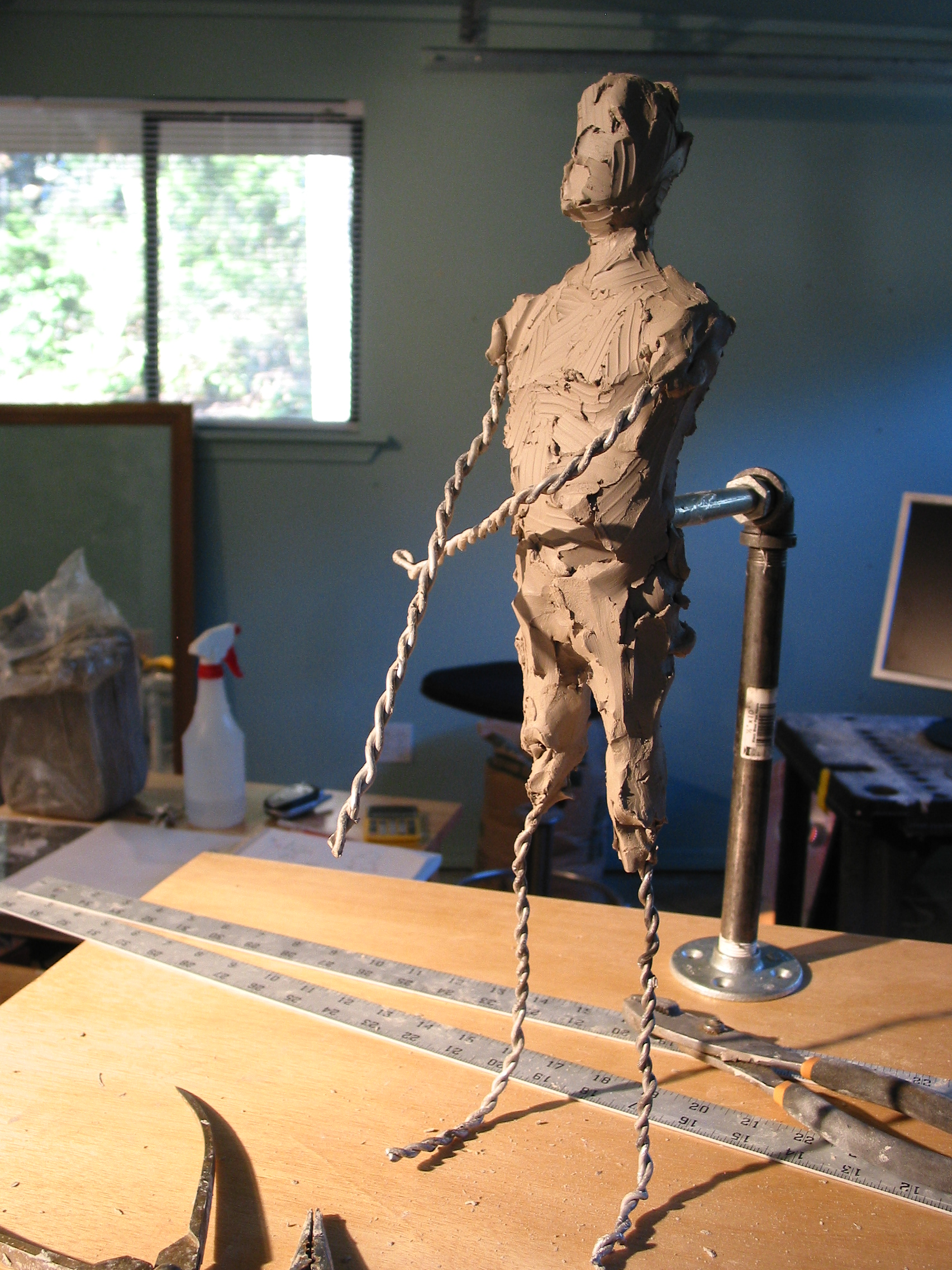 The Building of the 1/4 Life Size Armature of \
