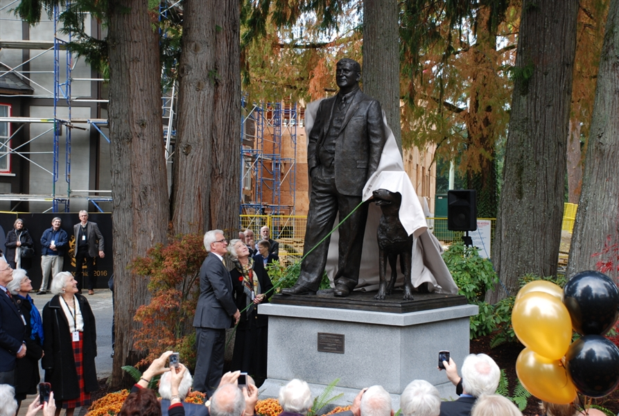 Unveiling of C.W. Lonsdale