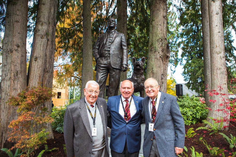 Stuart Milbrad, Francois Elmaleh, John Burr