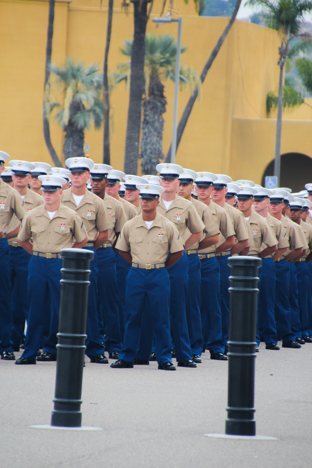 Marine Graduation Ceremony at MCRD