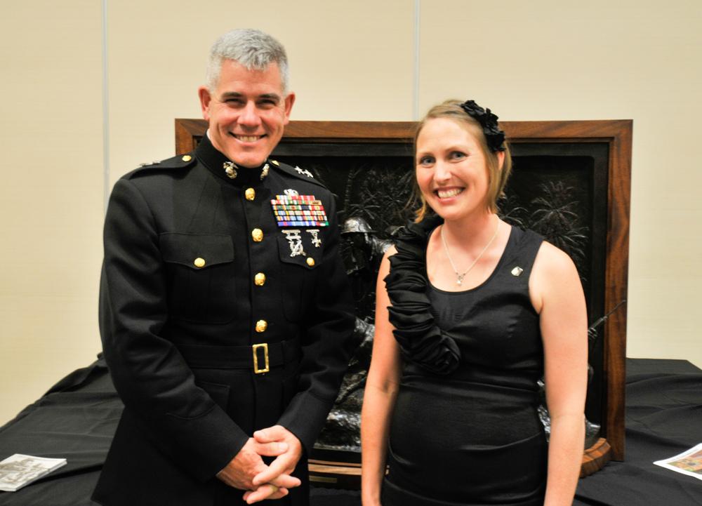 Mardie Rees & Maj. General Joseph Osterman