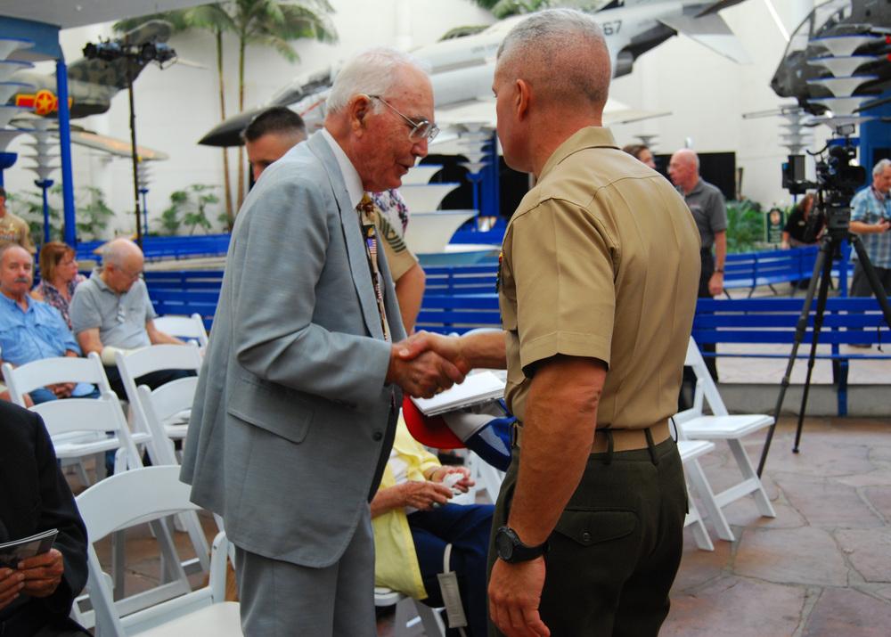 Charles Meacham Sr. & Colonel Milburn