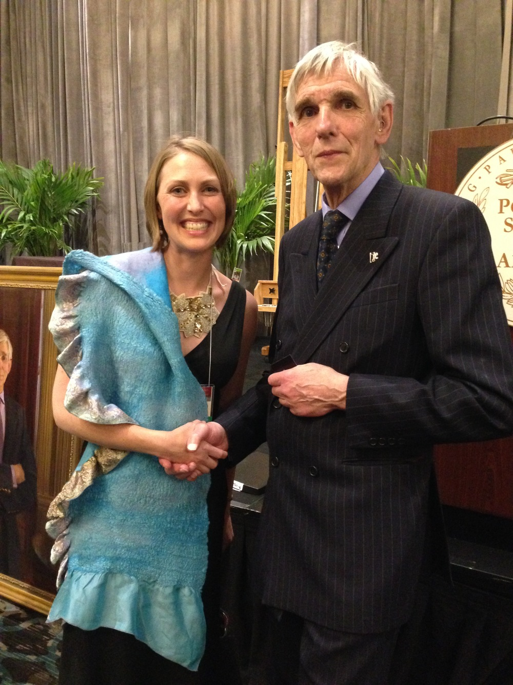 Mardie meets Richard Ormond, grand nephew of John Singer Sargent