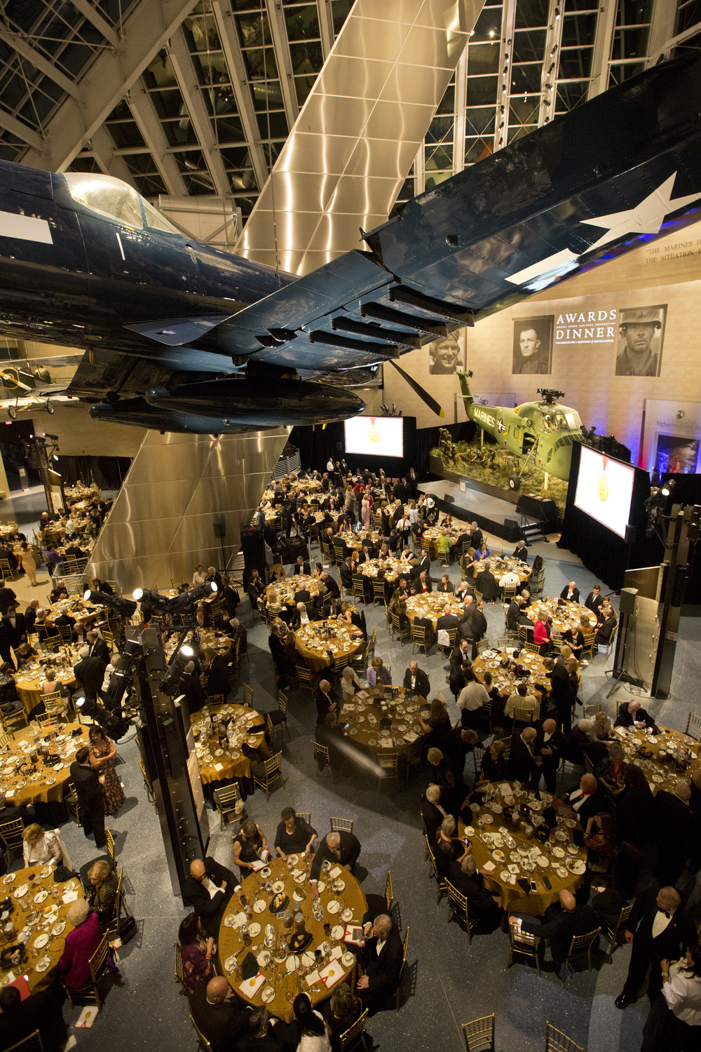 The National Museum of the Marine Corps at the Annual Awards Dinner