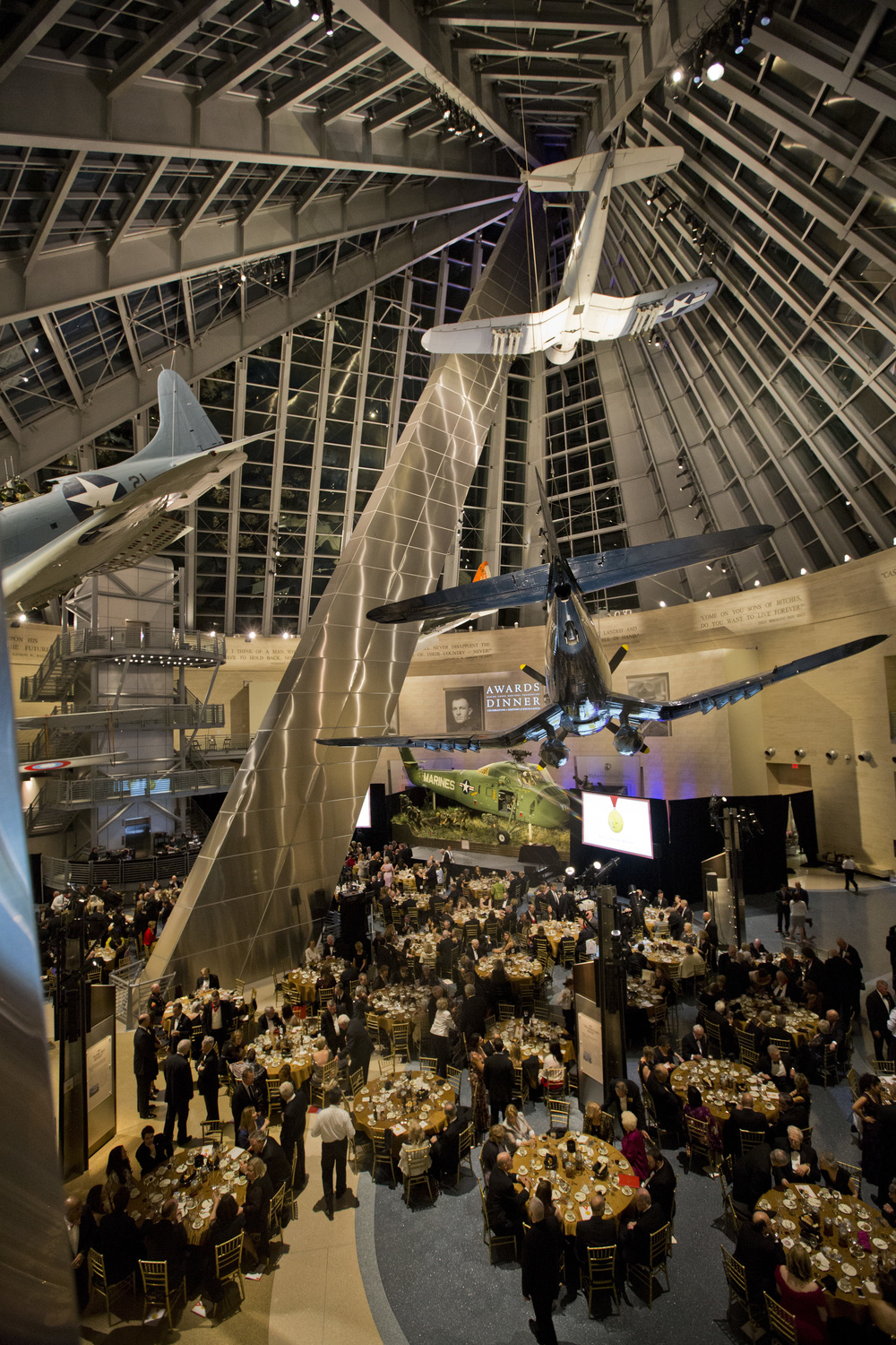 35th Annual Awards dinner at the National Museum of the Marine Corps