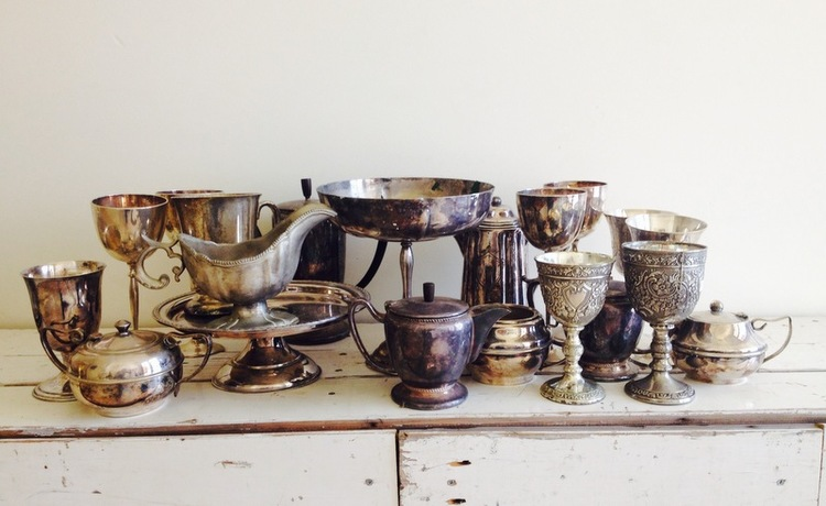 PEWTER VESSELS $3 EACH